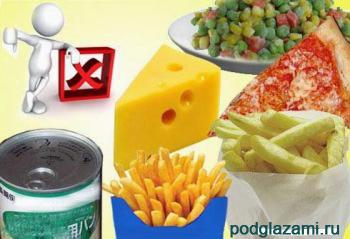Чтобы не было отеков под глазами, не ешьте эти продукты!