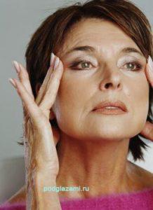 натуральные средства очень хороши против морщин у глаз