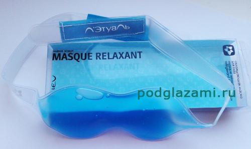 Охлаждающая расслабляющая маска Летуаль