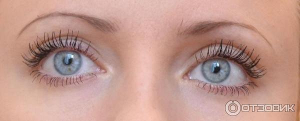 С консилером Люмене и полнум макияжем на глазах.