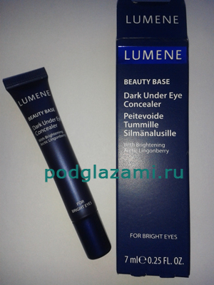 Lumene Dark under eye concealer: отзыв