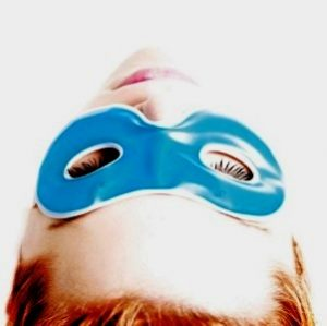 многоразовая гелевая маска для глаз eyes cover