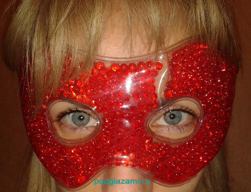 Я в гелевой маске spa belle