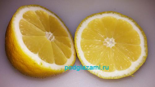 лимон от морщин вокруг глаз рецепт