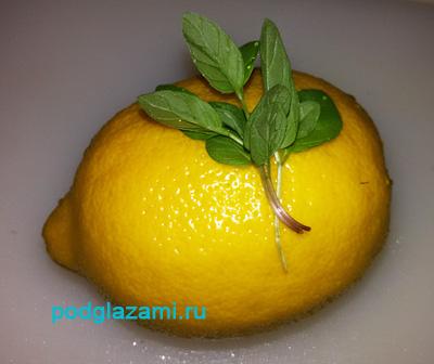 Мята с лимоном годится не только в чай!