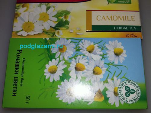 Пакетики с ромашковым чаем можно найти в любом супермаркете