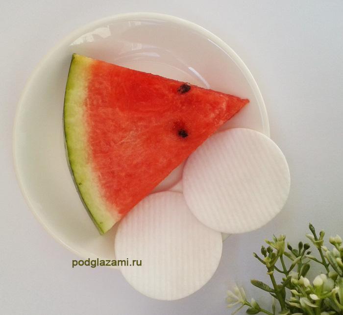 арбузный сок можно использовать в чистом виде