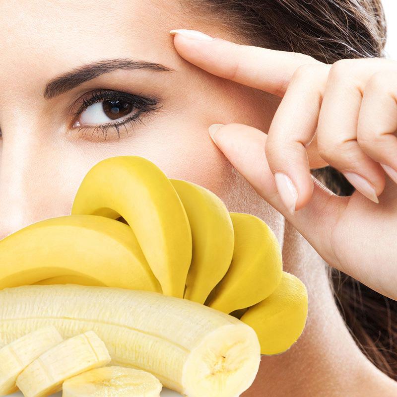 Лучшие маски вокруг глаз из банана