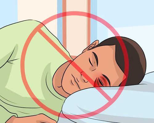 Ни в коем случае нельзя спать на стороне фингала!