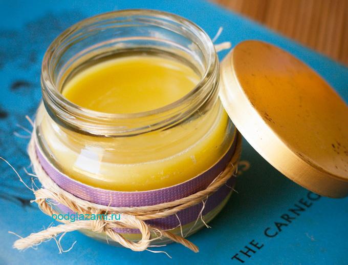 Рецепт ночного крема вокруг глаз с оливковым маслом
