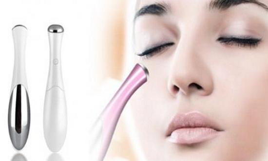 роликовый массажер для кожи вокруг глаз