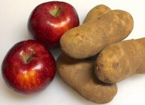 яблоки от мешков под глазами