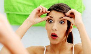 упражнения для лица от мешков под глазами