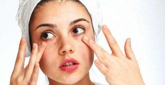 упругость кожи вокруг глаз