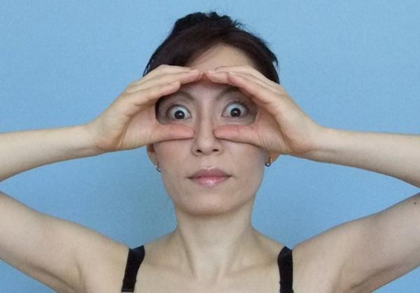 мимические морщины вокруг глаз в домашних условиях