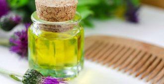 репейное масло для ресниц и бровей