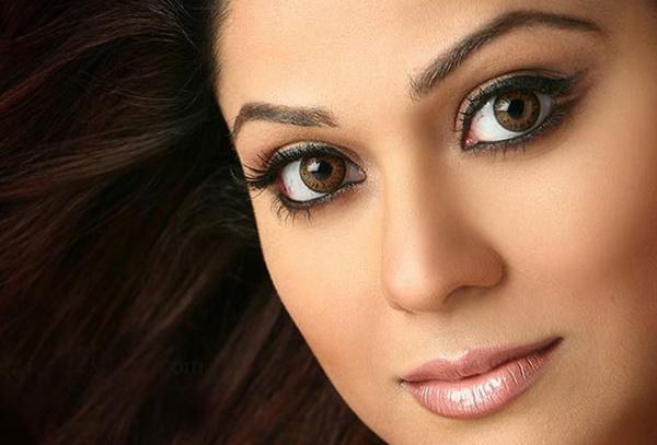макияж визуально увеличивающий глаза