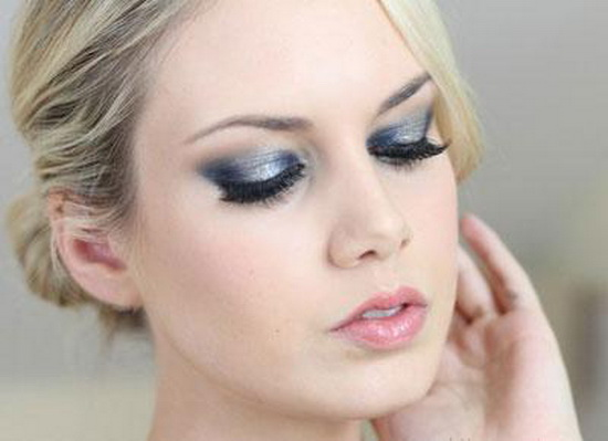 макияж серыми тенями как делать