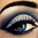макияж серыми тенями вечерний