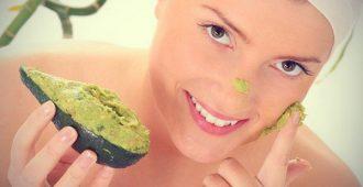 маска с авокадо под глаза