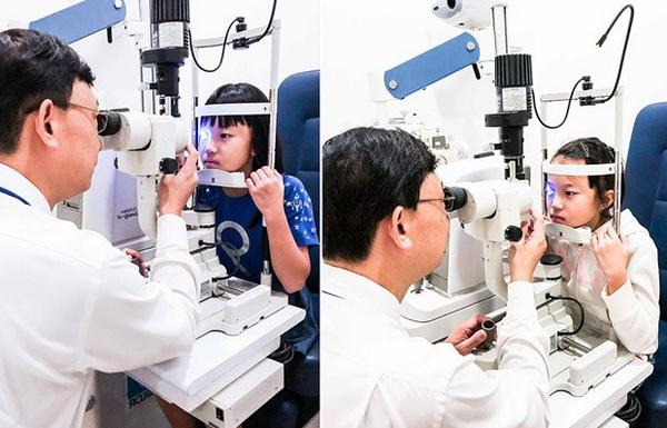 Исследование зрения у ребенка
