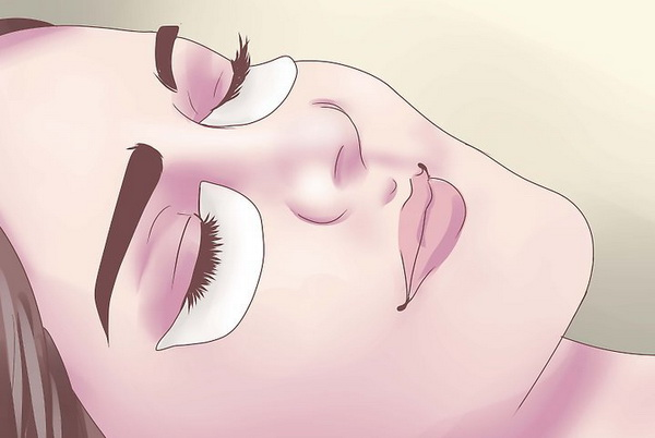 Этап процедуры окрашивания