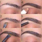Как сделать красивый макияж бровей