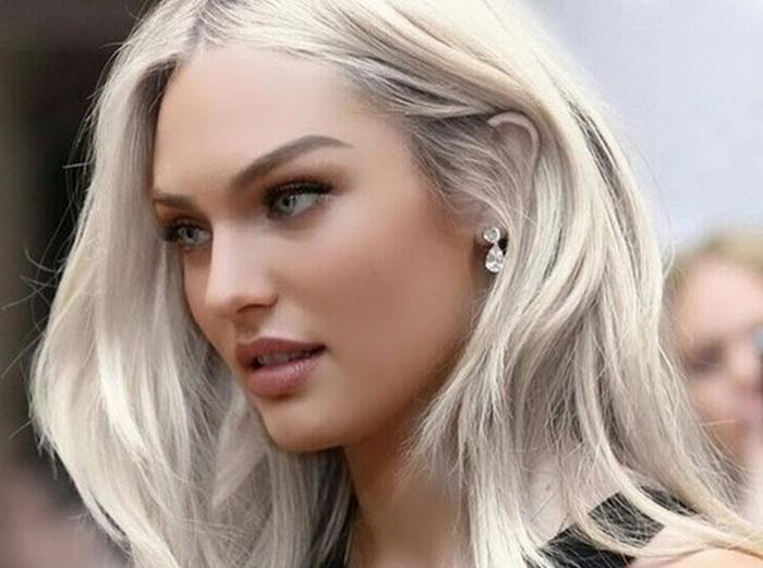 Пепельная блондинка