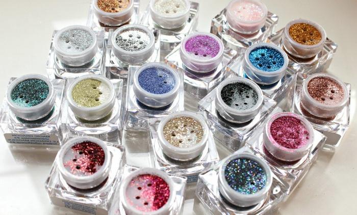 Набор глиттеров для макияжа