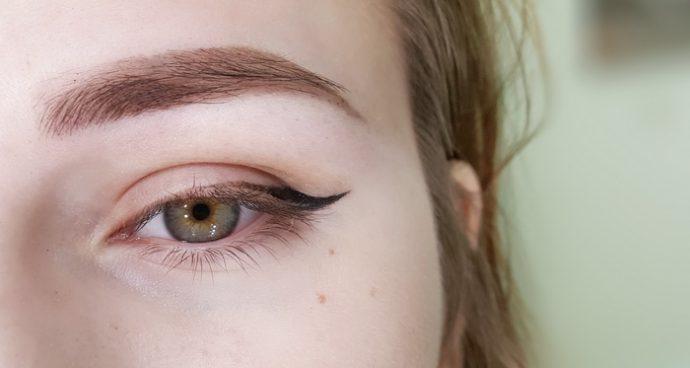 перманентный макияж бровей в технике пудровое напыление