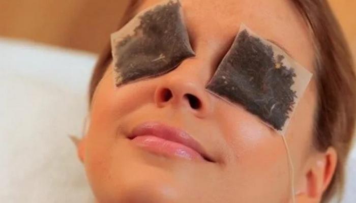 Чайные пакетики снимут усталость с глаз и укрепят реснички
