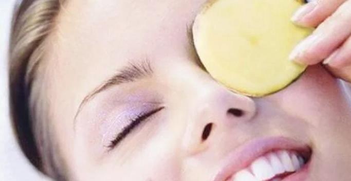 Проверенное средство под глаза - это картошка