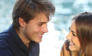 По взгляду парня можно определить, любит или нет